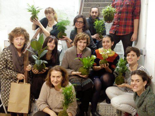 Taller con plantas en Madrid