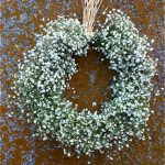 Aros de paniculata, arreglo floral