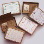 Caja de semillas para regalo con mensaje