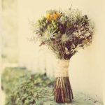 Ramo silvestre de novia para bodas de Rojomenta