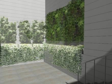 Jardín vertical en Madrid de Rojomenta en Madrid