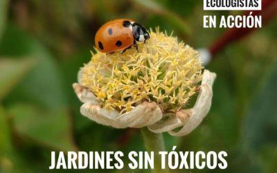 Curso online: Jardines sin tóxicos. Alternativas a los productos fitosanitarios de síntesis