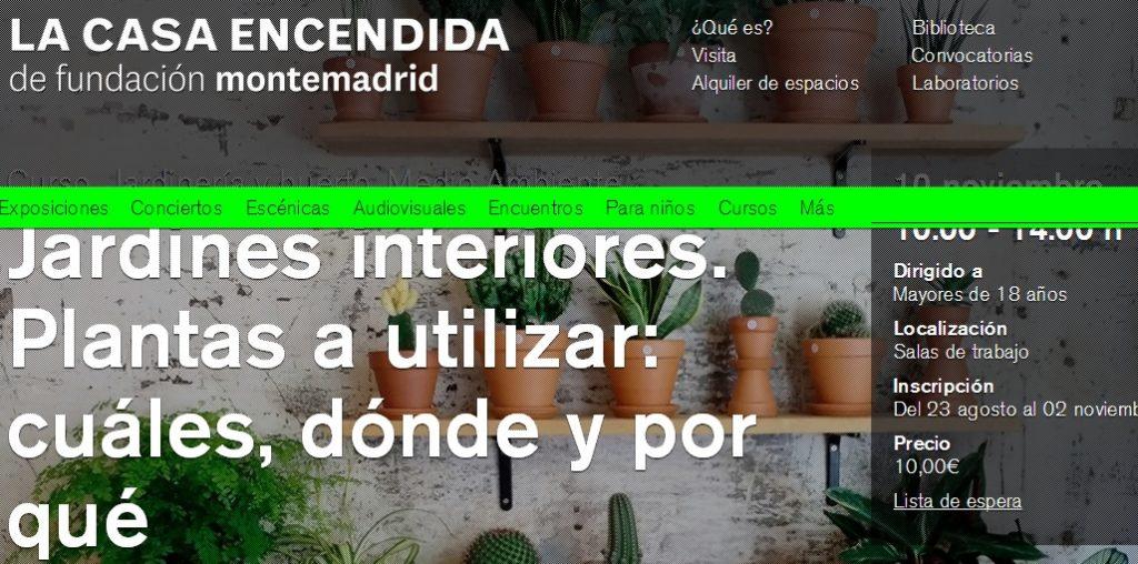 curso jardineria madrid