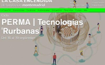 Ciclo PERMA 'Tecnologías Rurbanas'